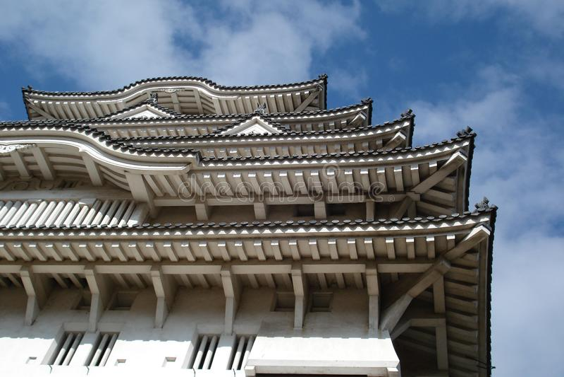 The Sky of Himeji Castle 01