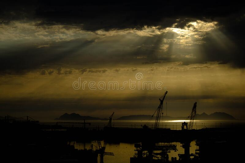 Sky, Horizon, Atmosphere, Calm royalty free stock photography