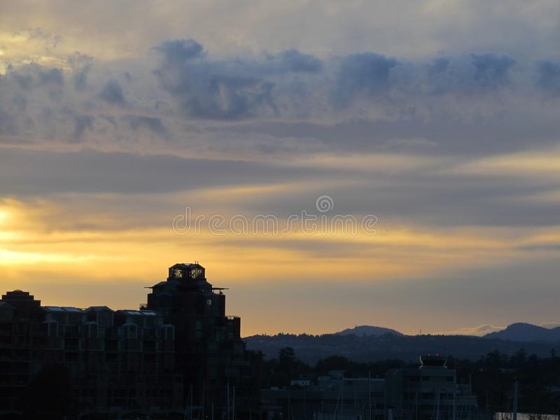 Sky, Horizon, Dawn, Skyline stock photography