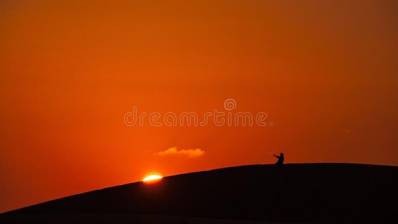 Sky, Horizon, Orange, Sunrise stock photography
