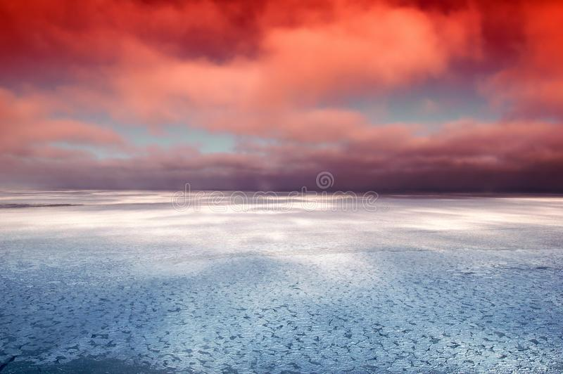 Sky, Horizon, Sea, Atmosphere royalty free stock image