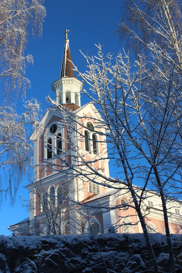 Sky, Landmark, Winter, Building stock image