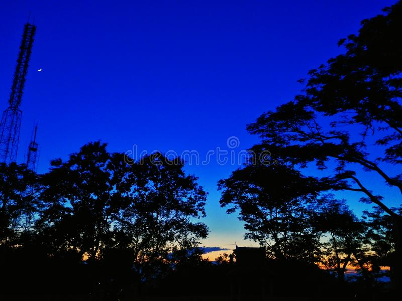 The sky lanscape royalty free stock photos