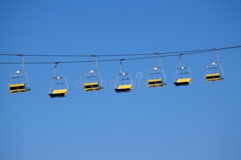 Download Sky Lift Amusement Park Ride Stock Image - Image of transportation, resort: 15068675