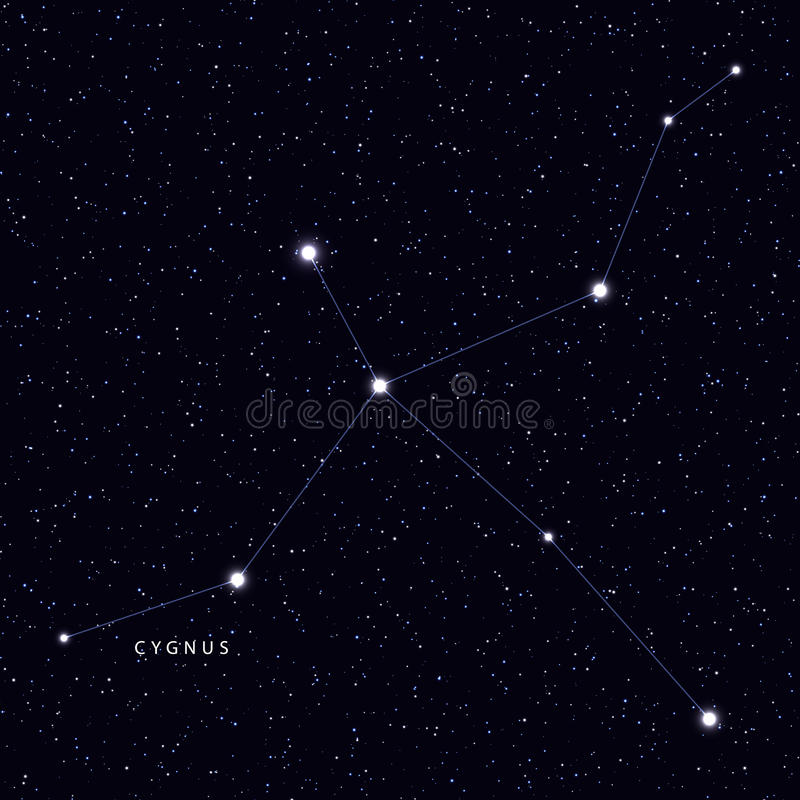 Sky Map With The Name Of The Stars And Constellations Stock - Astronomical map of galaxies in the us