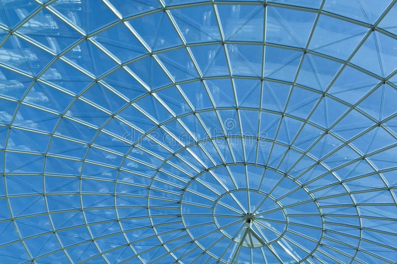 Download Sky & Modern Architecture Spiral Round Window Stock Photo - Image: 12743886