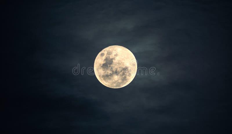 Sky, Moon, Atmosphere, Full Moon stock image
