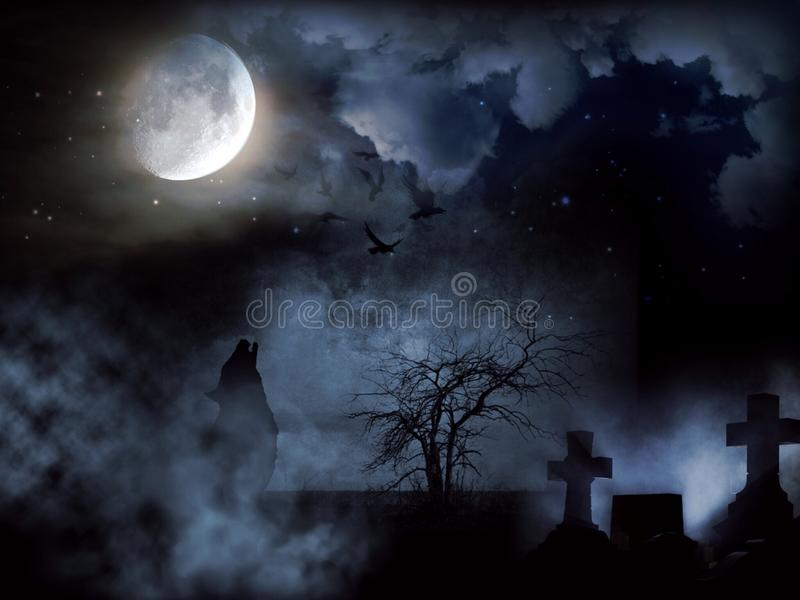 Sky, Moonlight, Nature, Atmosphere stock image