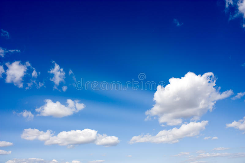 Sky at the morning stock images