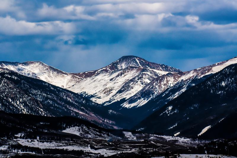 Sky, Mountainous Landforms, Mountain, Snow royalty free stock photos