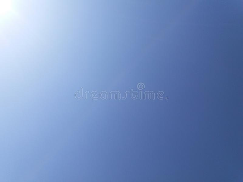 Sky in my village royalty free stock photography