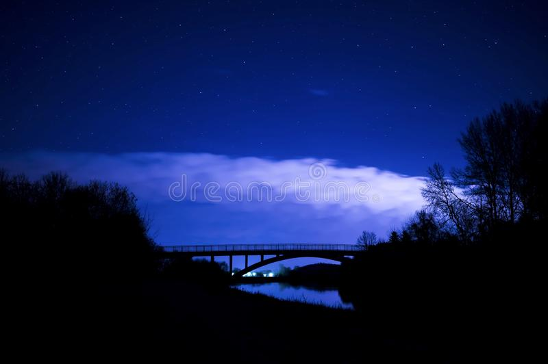Sky, Nature, Night, Atmosphere stock photography