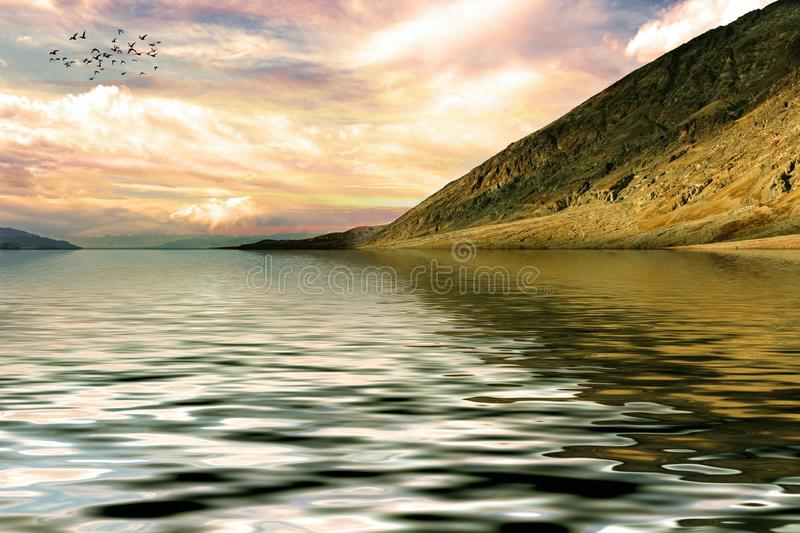Sky, Nature, Water, Loch royalty free stock photography