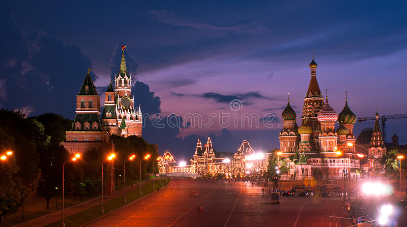 Download The Sky Of Night Moscow Royalty Free Stock Photos - Image: 32400098
