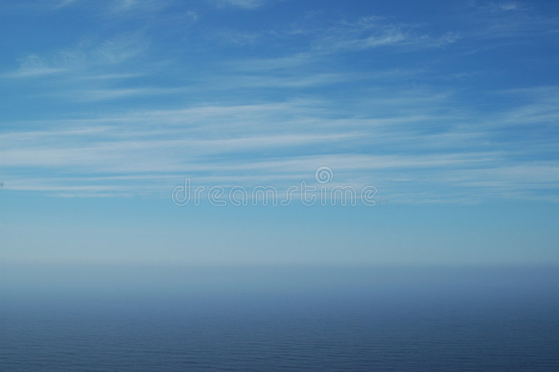 Sky And Ocean Stock Image