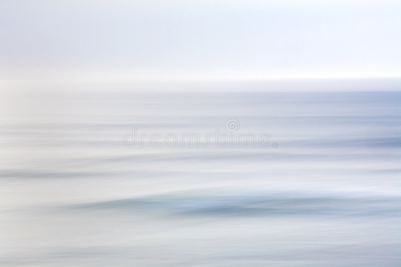 Sky and Ocean Abstract royalty free stock photography