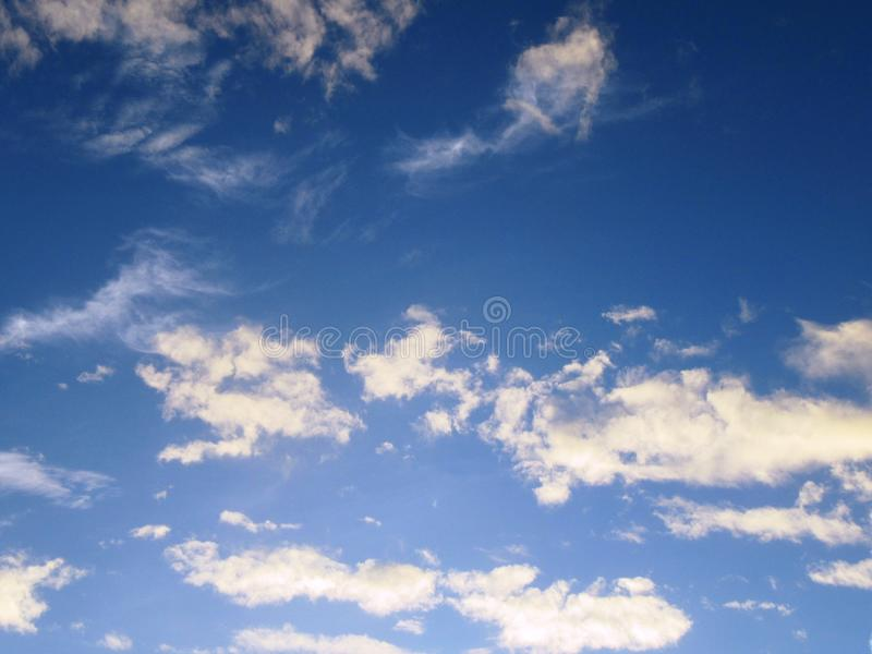 The sky over Berlin royalty free stock image