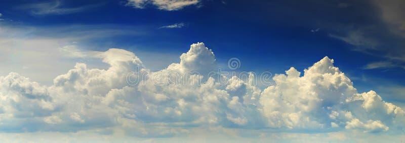 Sky panorama stock photos