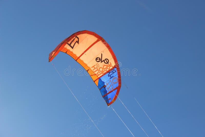 Sky, Parachuting, Parachute, Kite Sports stock images