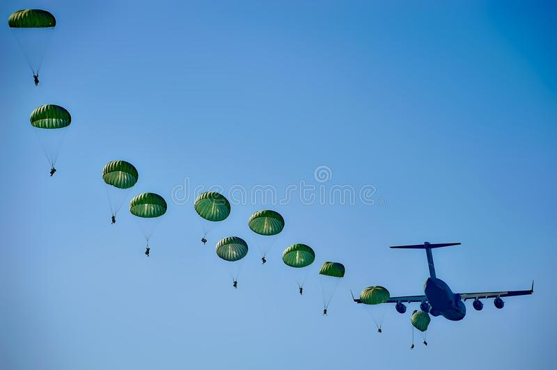 Sky, Parachuting, Water, Daytime stock photos