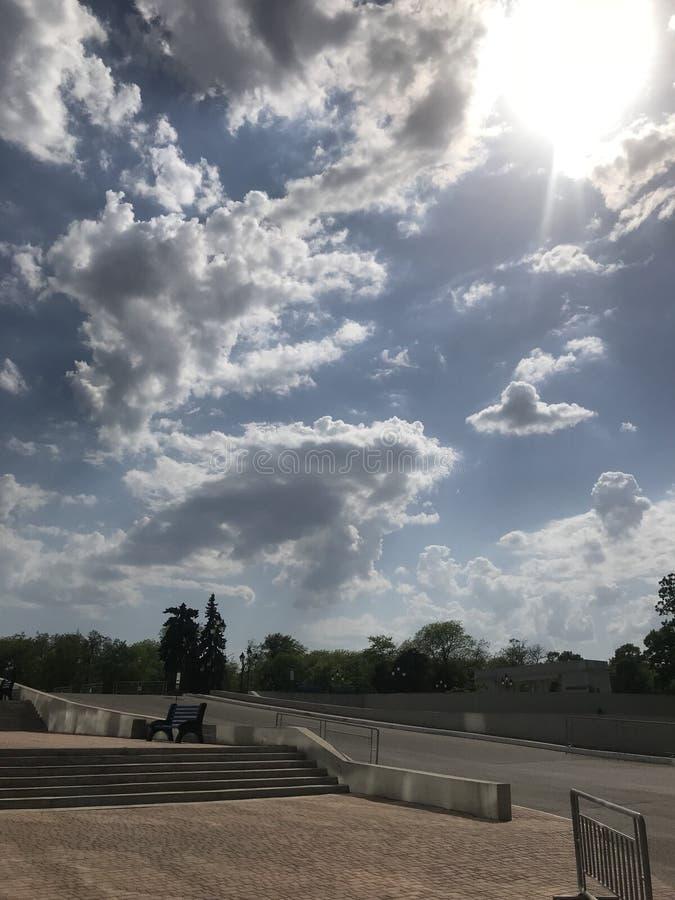 Sky&park image libre de droits