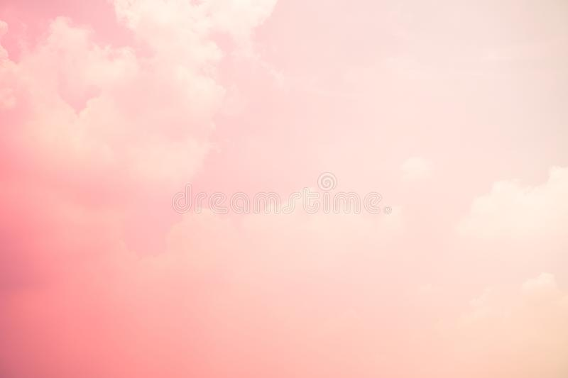 Sky pink and blue colors. sky abstract background blur light grain royalty free stock image