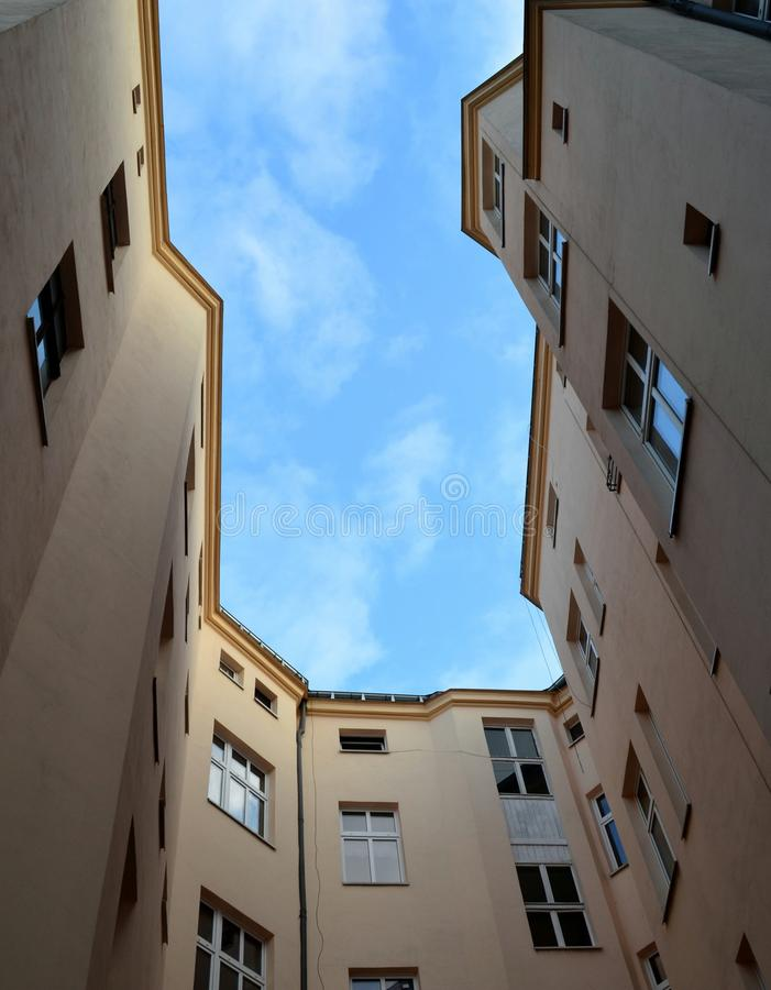 Sky, Property, Building, Apartment royalty free stock photography