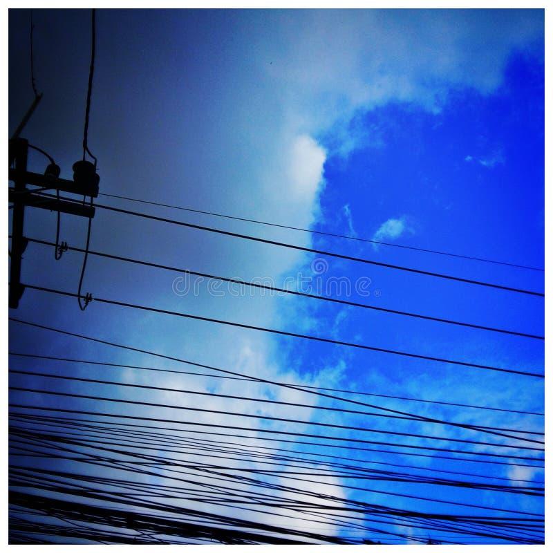 sky&rain photographie stock libre de droits