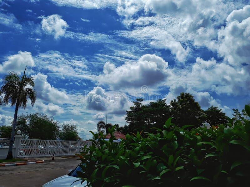 The sky after rain royalty free stock photos