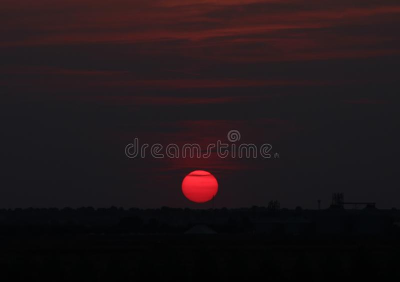 Sky, Red, Atmosphere, Daytime stock photo