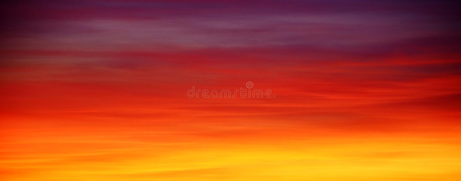 Sky, Red Sky At Morning, Afterglow, Orange stock images