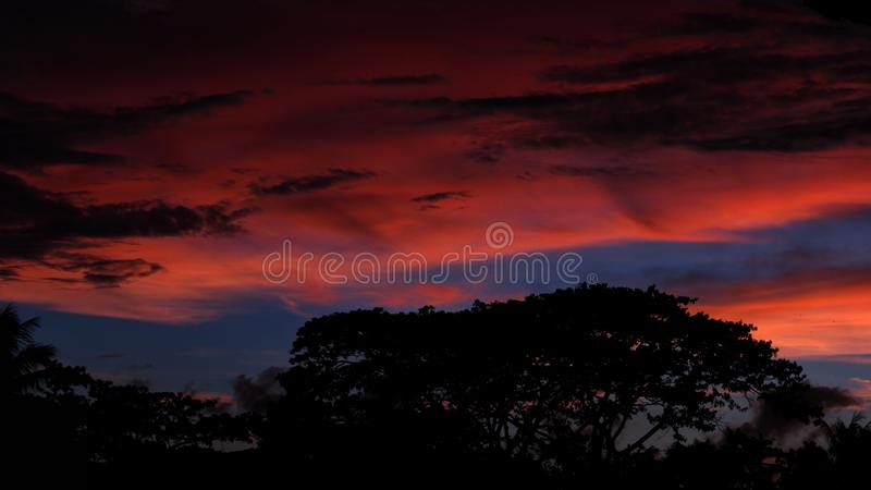 Sky, Red Sky At Morning, Afterglow, Atmosphere Free Public Domain Cc0 Image