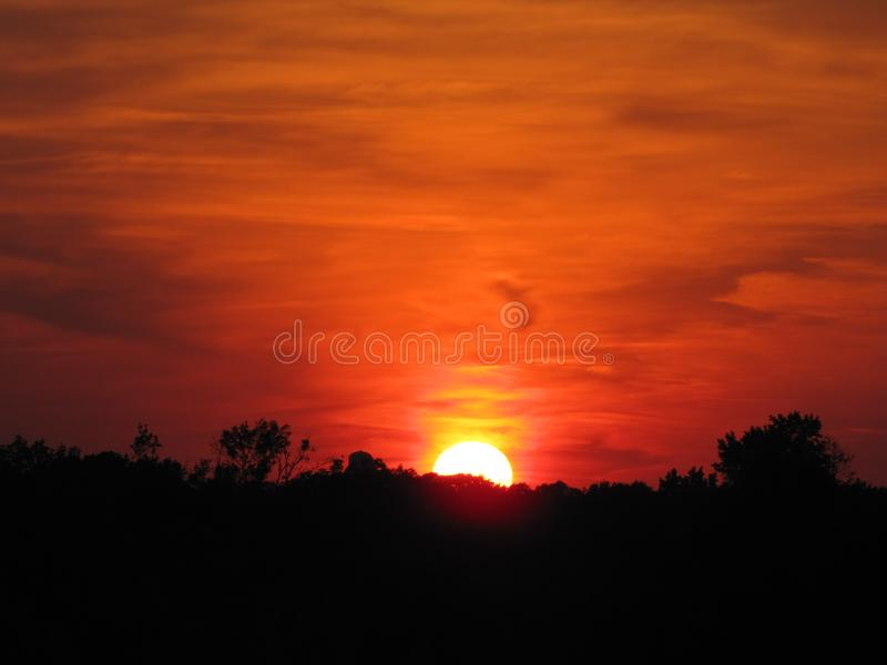 Sky, Red Sky At Morning, Afterglow, Sunrise stock photography