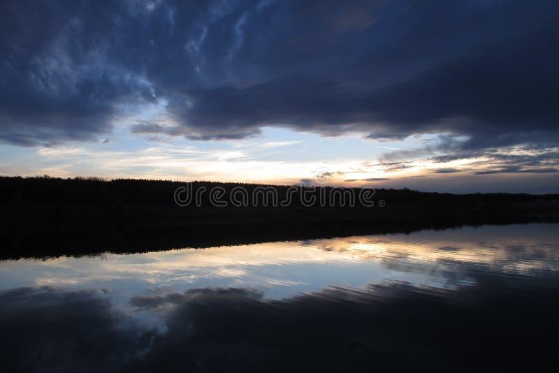 Sky, Reflection, Horizon, Loch royalty free stock photo