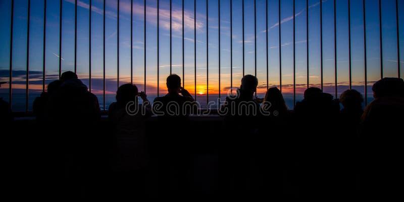 Sky, Reflection, Light, Evening stock photo