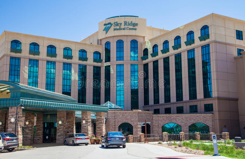 Sky Ridge Medical Center stock photo