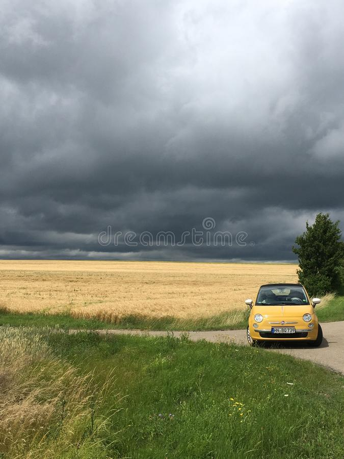 Sky, Road, Cloud, Car stock image