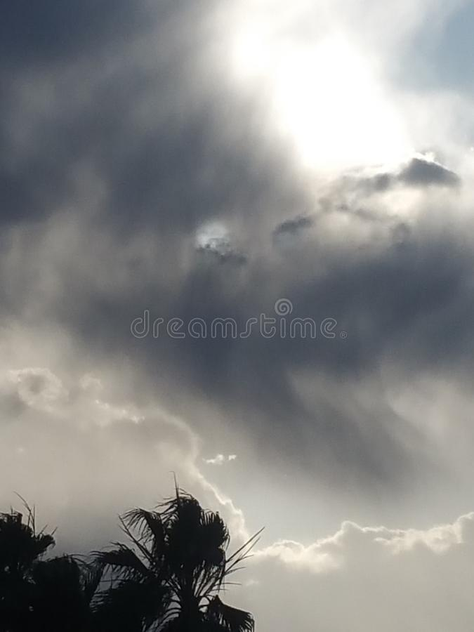 Sky& x27; s fotografia stock
