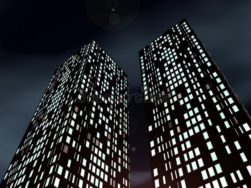 Sky-scrapers Royalty Free Stock Photography