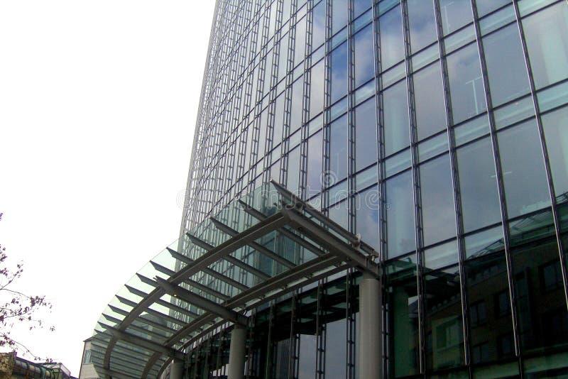 Sky scrapers in Frankfurt. The city center of Frankfurt, where are numerous sky scrapers stock photo