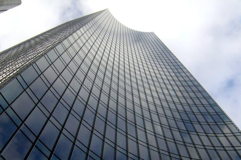 Sky scrapers in Frankfurt. The city center of Frankfurt, where are numerous sky scrapers royalty free stock photos