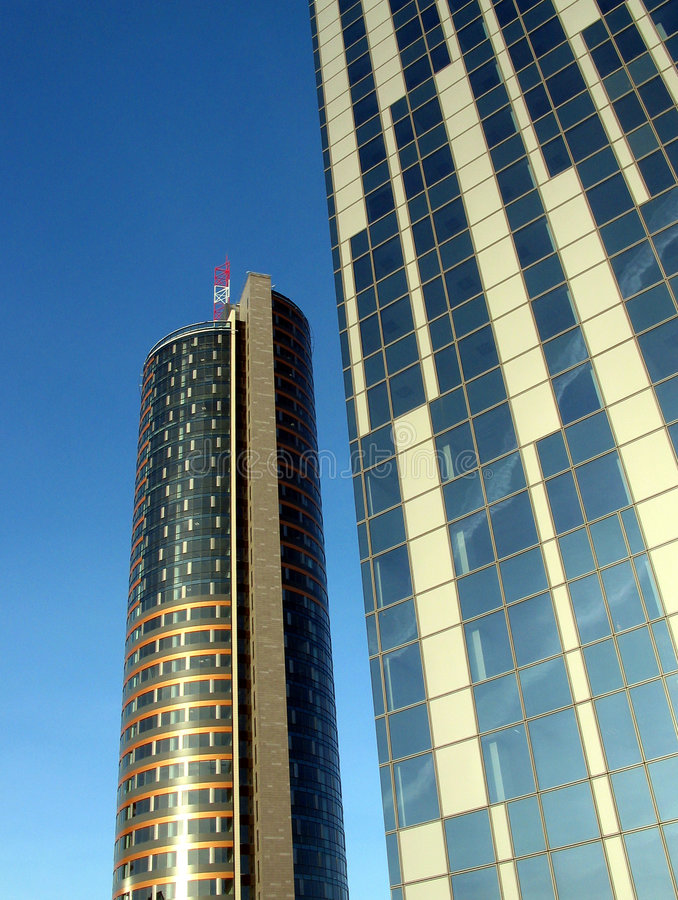 Sky-scrappers royalty free stock image