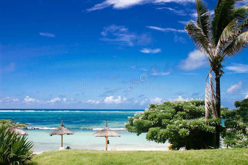 Sky, sea and heat royalty free stock image