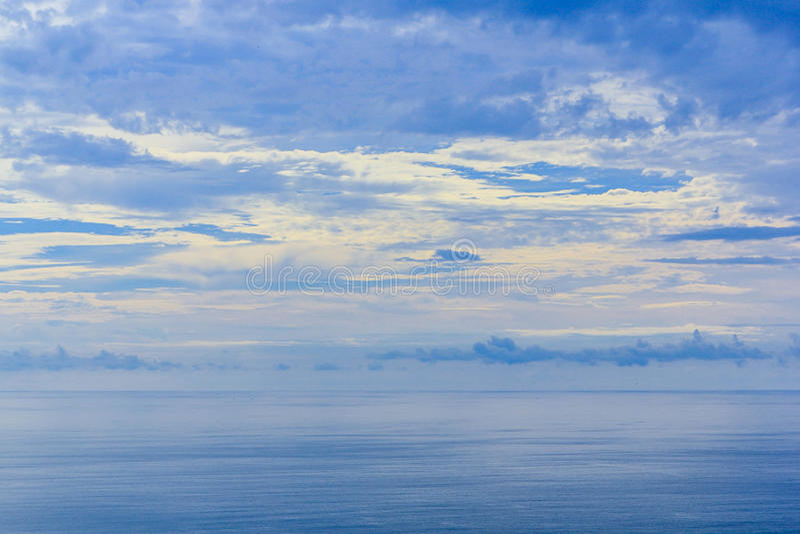 Sky & Sea Reflect stock photo