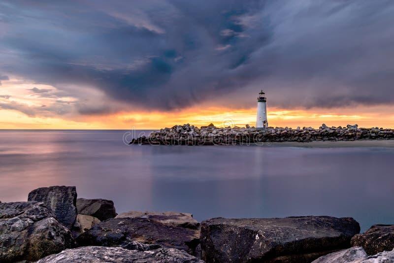 Sky, Sea, Shore, Horizon stock image