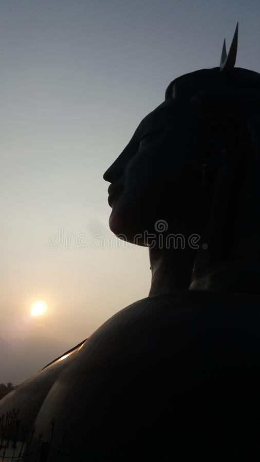 Sky, Silhouette, Monument, Statue royalty free stock image