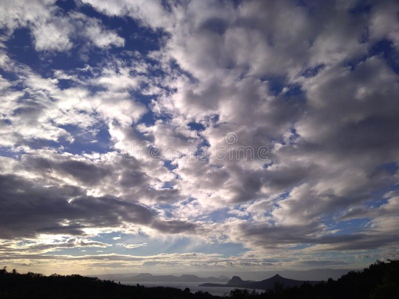 Download Sky Before Sinset stock image. Image of clouds, captured - 116095973