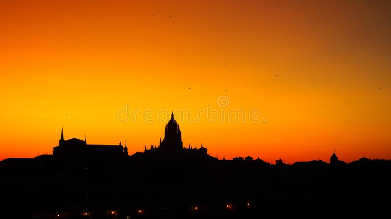 Sky, Skyline, Dawn, Sunset royalty free stock photos