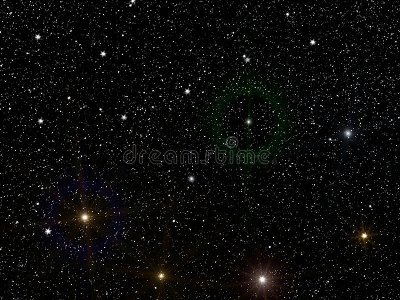 Sky stars constellation royalty free stock photography