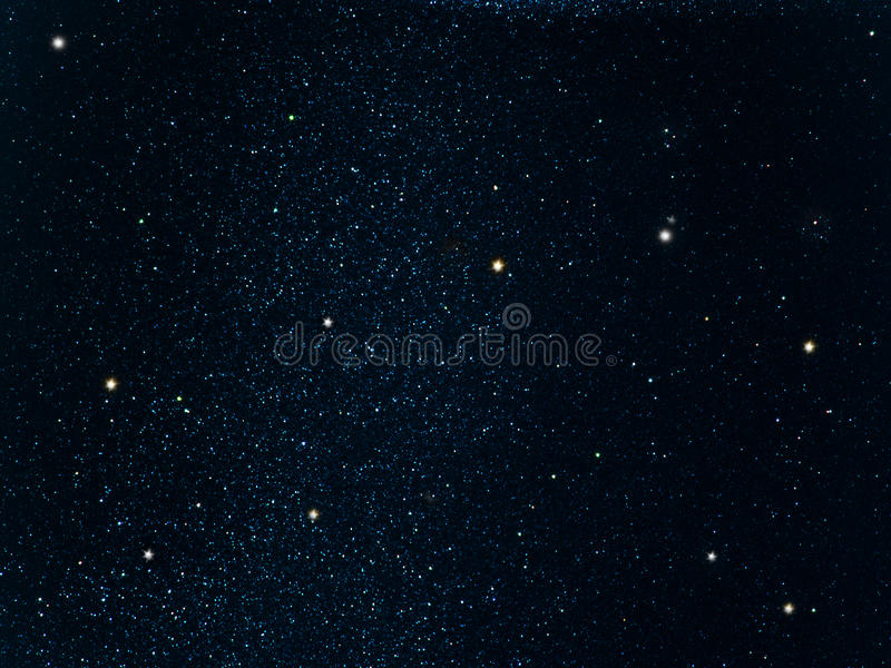 Sky stars constellation royalty free stock images